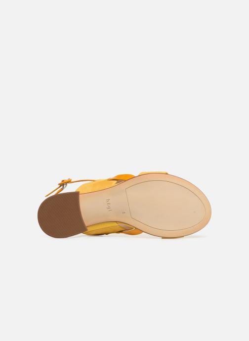 Sandalen HÖGL Ribby gelb ansicht von oben