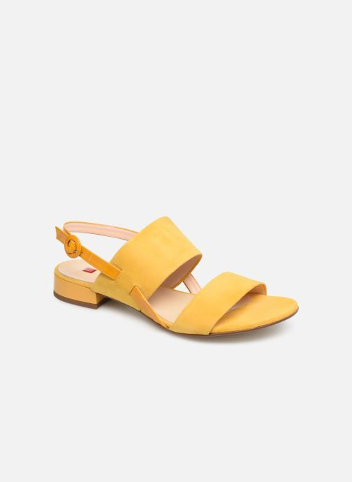 Sandals HÖGL Ribby Yellow detailed view/ Pair view