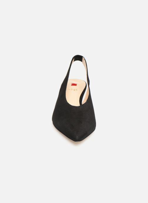 Escarpins HÖGL Costa Noir vue portées chaussures