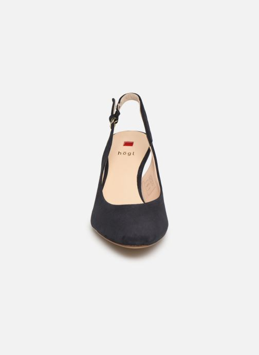 Escarpins HÖGL Eterna Bleu vue portées chaussures