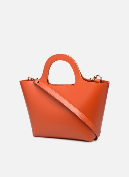 Handväskor Craie PARABOLE Orange Bild från höger sidan