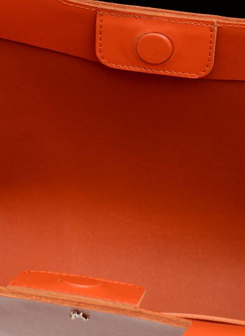 Sacs à main Craie PARABOLE Orange vue derrière