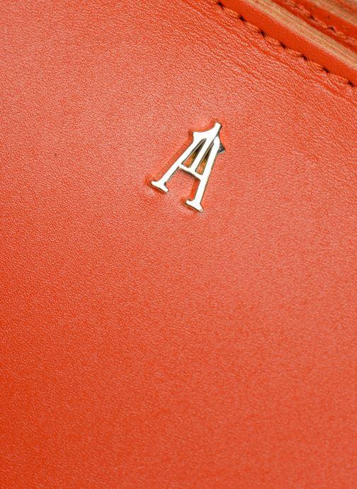 Sacs à main Craie PARABOLE Orange vue gauche