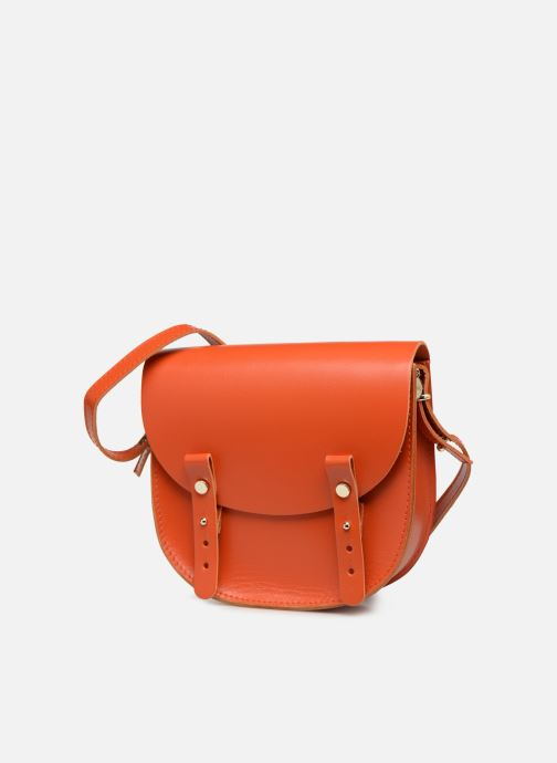 Sacs à main Craie MINI LUNE Orange vue portées chaussures