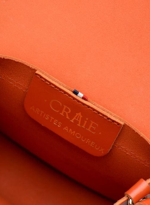 Sacs à main Craie MINI LUNE Orange vue derrière