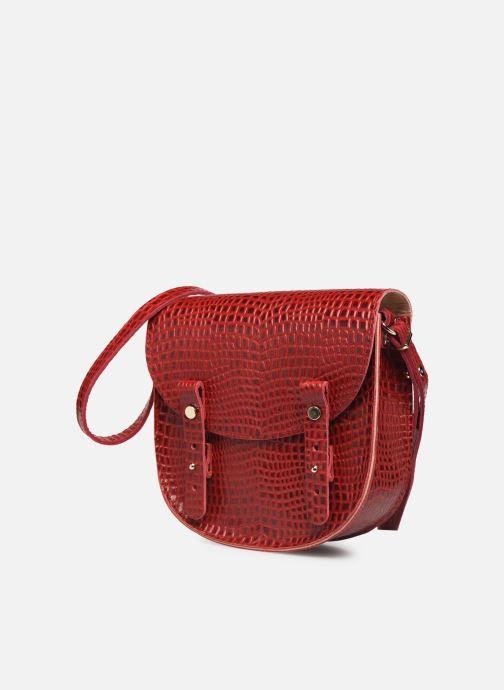 Handtassen Craie MINI LUNE Rood model