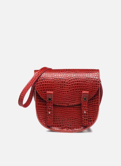 Handtassen Craie MINI LUNE Rood detail