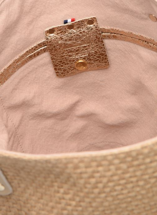 Handväskor Craie PETIT POLOCHON Beige bild från baksidan