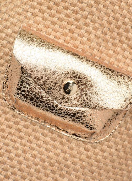 Handväskor Craie PETIT POLOCHON Beige bild från vänster sidan