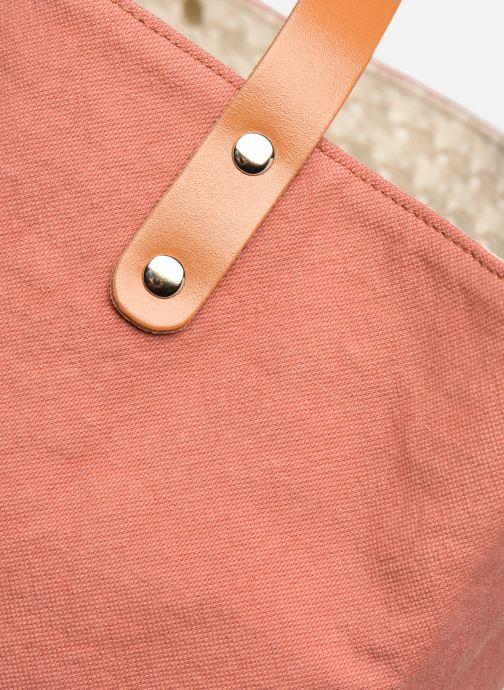Handväskor Craie PETIT POLOCHON Rosa bild från vänster sidan