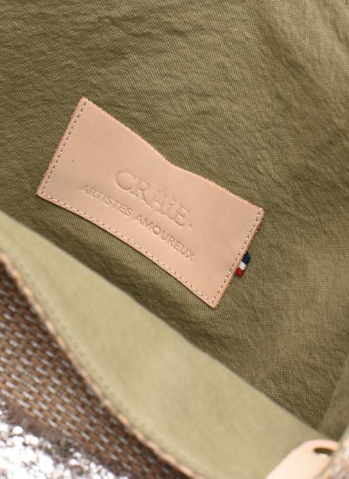 Handtaschen Craie PETIT POLOCHON grün ansicht von hinten