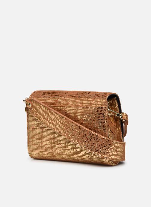 Handtaschen Craie POESIE gold/bronze ansicht von rechts