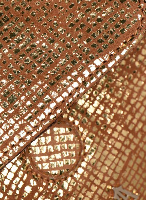 Bolsos de mano Craie POESIE Oro y bronce vista lateral izquierda