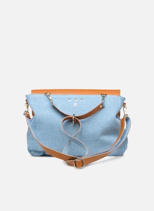 Handtaschen Craie MAXI MATHS braun ansicht von vorne