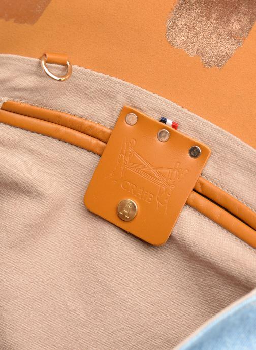 Handtaschen Craie MAXI MATHS braun ansicht von hinten