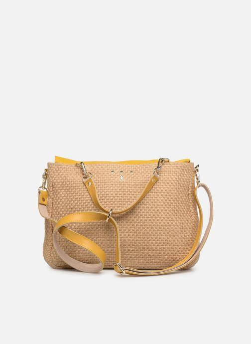 Handtaschen Craie MAXI MATHS gelb ansicht von vorne