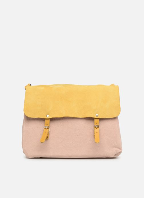 Handtaschen Craie MAXI MATHS gelb ansicht von links