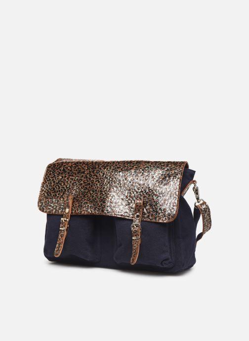 Handtaschen Craie MAXI MATHS blau schuhe getragen