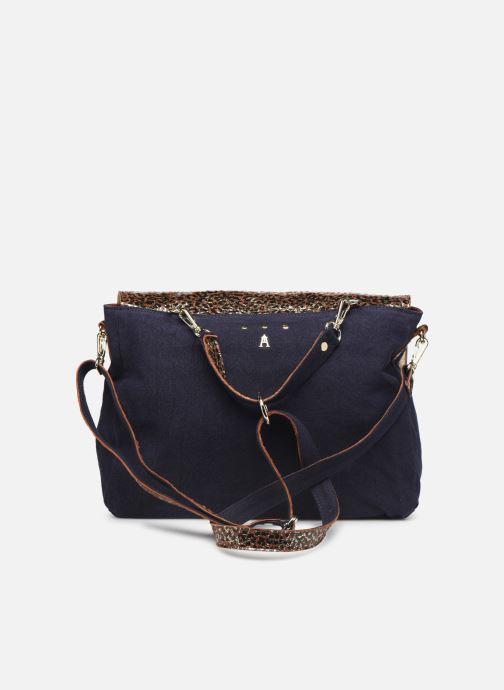 Handtaschen Craie MAXI MATHS blau ansicht von vorne