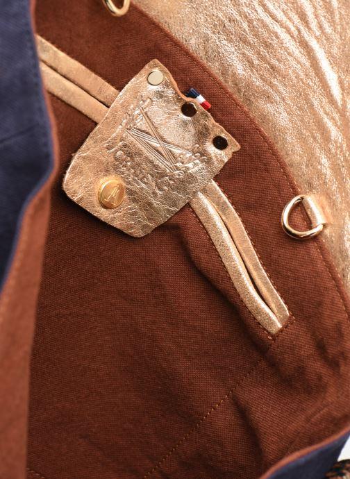 Handtaschen Craie MAXI MATHS blau ansicht von hinten