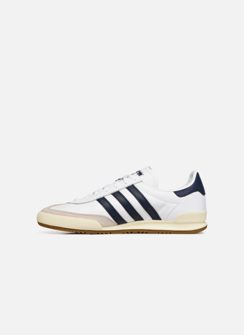 Baskets Adidas Originals Jeans Blanc vue face