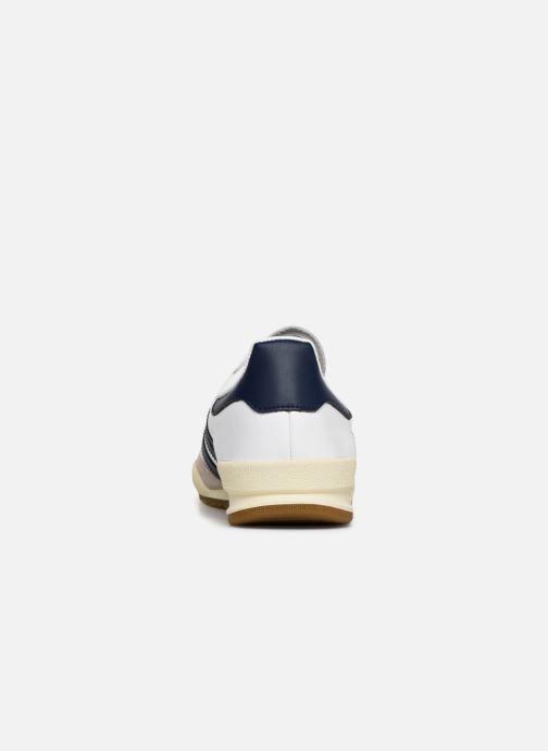 Sneaker adidas originals Jeans weiß ansicht von rechts