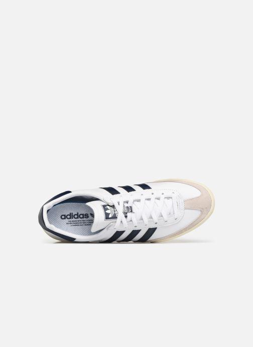 Sneaker adidas originals Jeans weiß ansicht von links