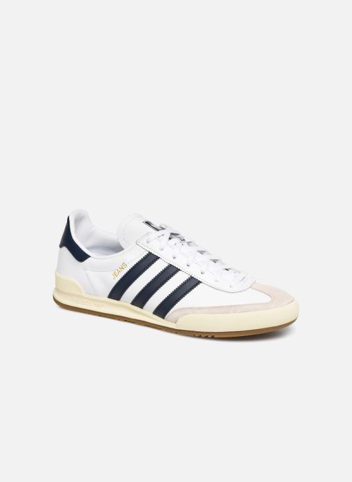 Baskets Adidas Originals Jeans Blanc vue détail/paire