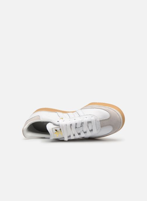 Trainers adidas originals Samba Og W Relay White view from the left