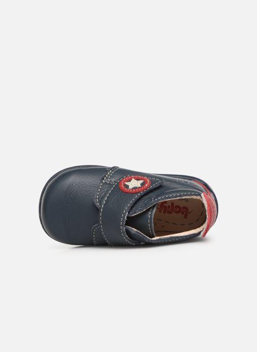 Bottines et boots Bopy Pamoto Bleu vue gauche