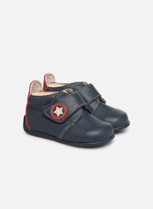 Boots en enkellaarsjes Bopy Pamoto Blauw detail