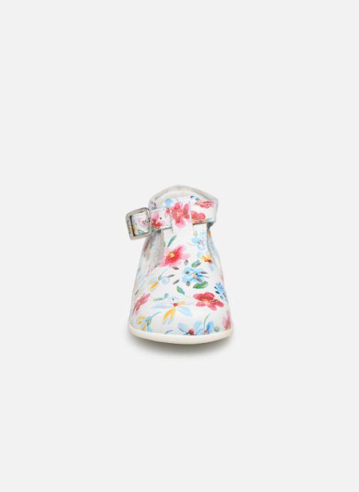 Ballerines Bopy Petunia Multicolore vue portées chaussures