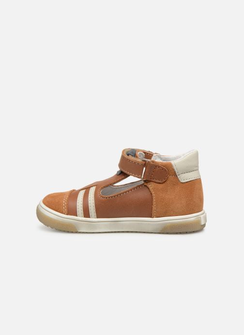 Sandales et nu-pieds Bopy Raba Marron vue face