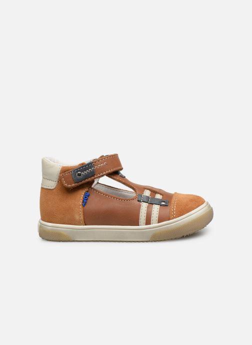 Sandales et nu-pieds Bopy Raba Marron vue derrière