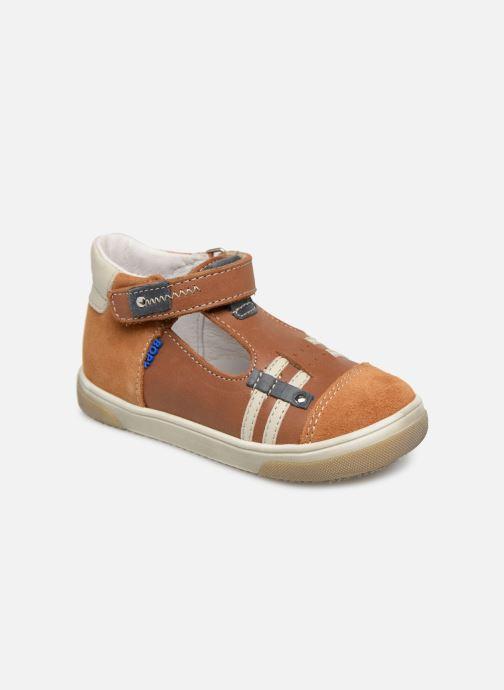 Sandales et nu-pieds Bopy Raba Marron vue détail/paire