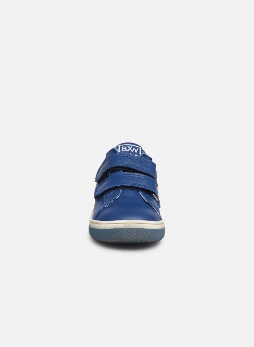 Baskets Bopy Rafino Bleu vue portées chaussures