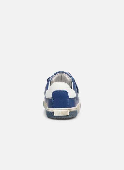Baskets Bopy Rafino Bleu vue droite