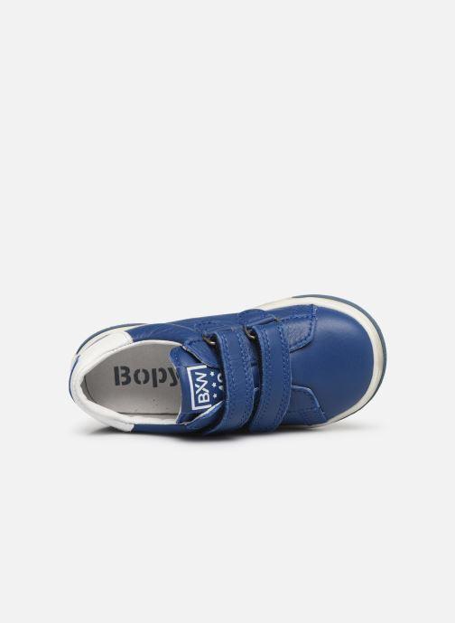 Baskets Bopy Rafino Bleu vue gauche