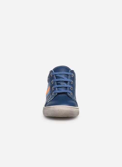 Ankle boots Bopy Ravi Blue model view