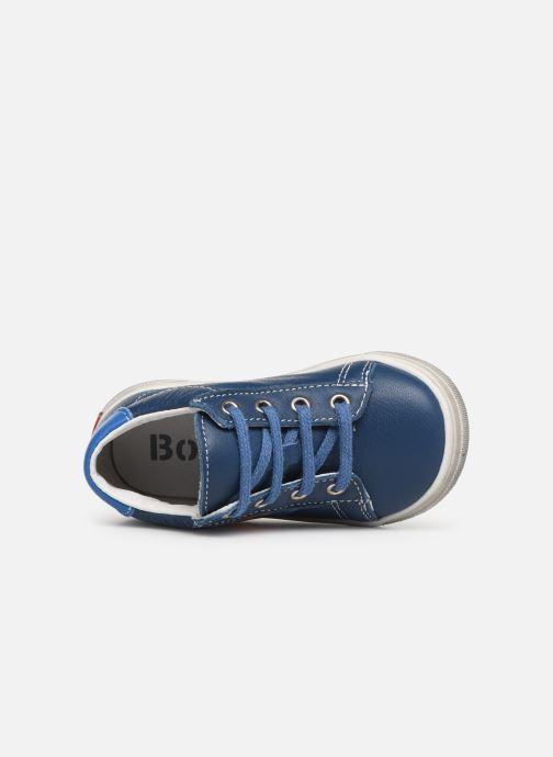 Ankelstøvler Bopy Ravi Blå se fra venstre