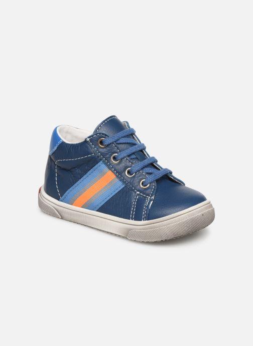 Ankelstøvler Bopy Ravi Blå detaljeret billede af skoene
