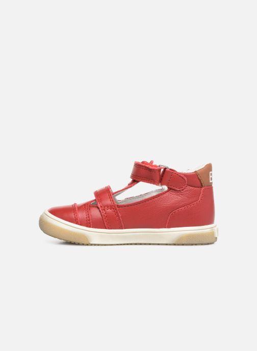 Sandalias Bopy Rito Rojo vista de frente