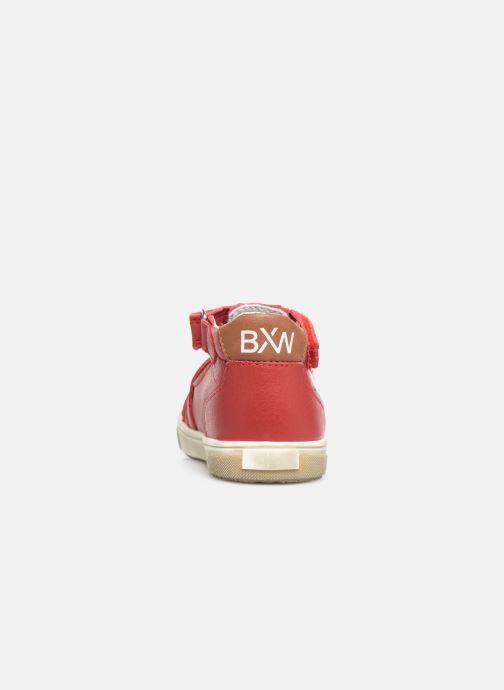 Sandalias Bopy Rito Rojo vista lateral derecha