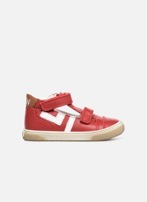 Sandales et nu-pieds Bopy Rito Rouge vue derrière