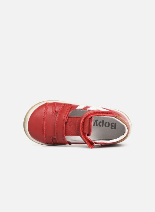 Sandalias Bopy Rito Rojo vista lateral izquierda