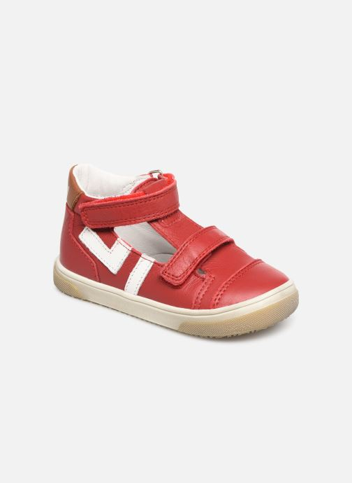 Sandals Bopy Rito Red detailed view/ Pair view