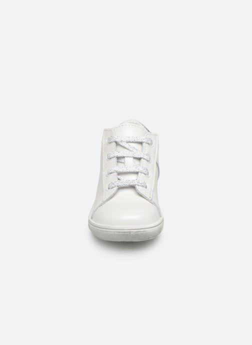 Bottines et boots Bopy Rosen Blanc vue portées chaussures