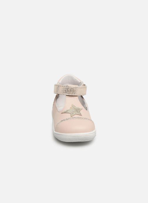 Ballerines Bopy Rosilda Rose vue portées chaussures