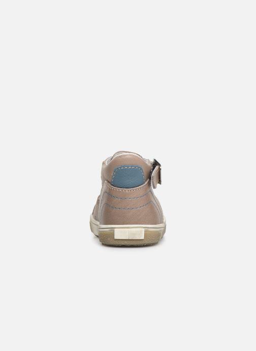 Sandales et nu-pieds Bopy Rucati Beige vue droite