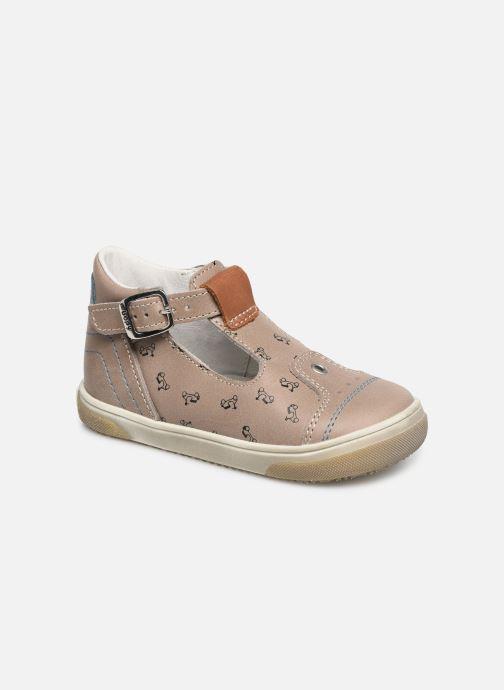 Sandales et nu-pieds Bopy Rucati Beige vue détail/paire